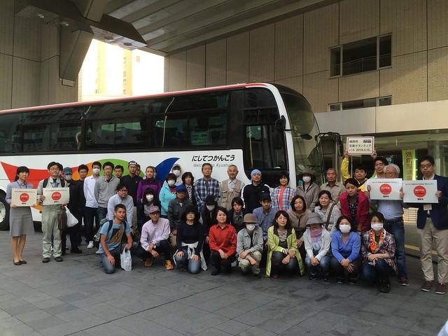 福岡市災害ボランティアバス第2弾20160522