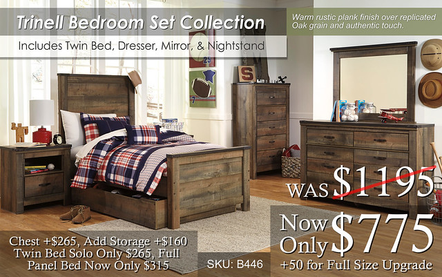 Trinell Youth Bedroom Set B446