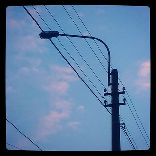 Evening sky, for #365days project, 208/365
