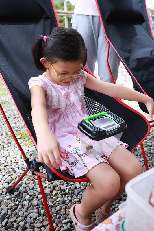 寶妹在看鍬型蟲