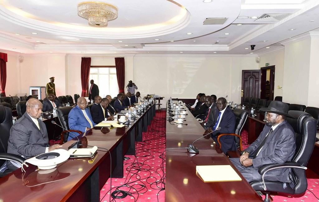 Museveni Kiir 2