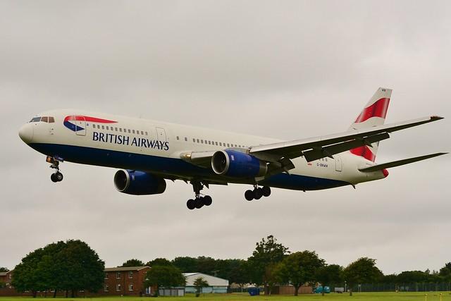 Boeing 767 -336ER G-BNWM 15 Jul 16