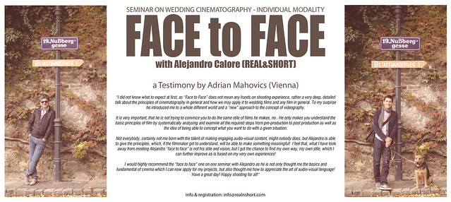 FACE to FACE with Alejandro Calore (REAL&SHORT)