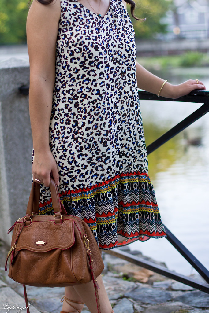 cabi leopard dress, zaful lace up sandals, tahari bag-5.jpg