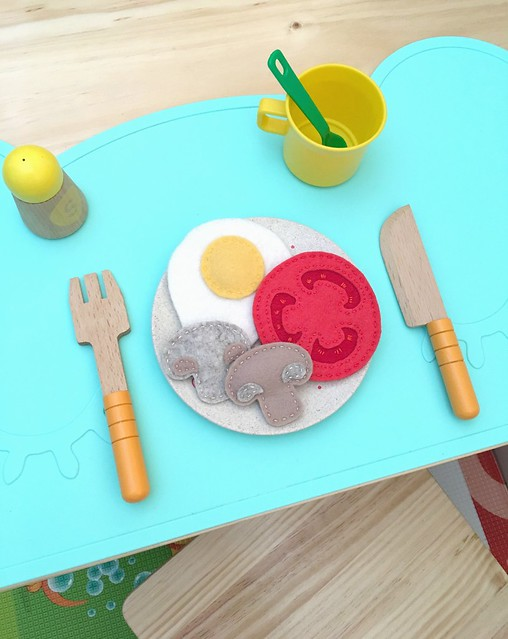 breakfast pretend food DIY