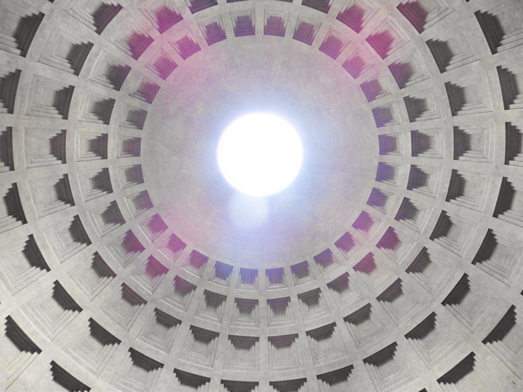 The Pantheon Open Roof