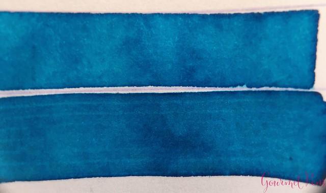 Ink Shot Review Franklin-Christoph Spanish Blue @1901FC 4