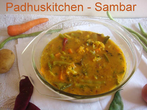 mixed-vegetable-sambar