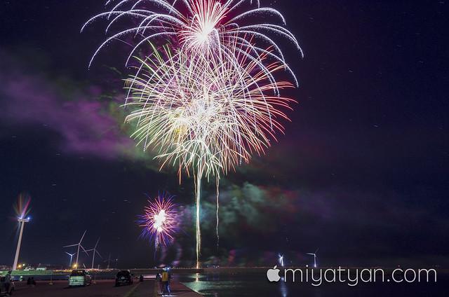 瀬棚花火-2