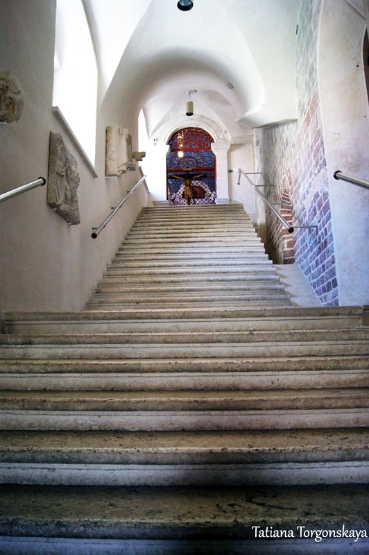 Лестница к реликварию