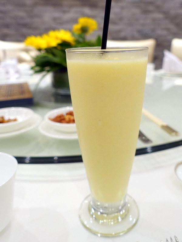 XIU Fine Cantonese Dining Restaurant- Pineapple Coconut Shake