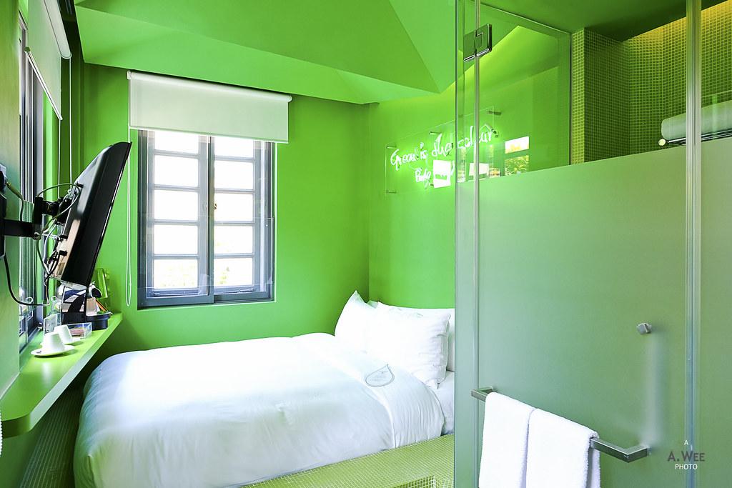 Pantone Green room