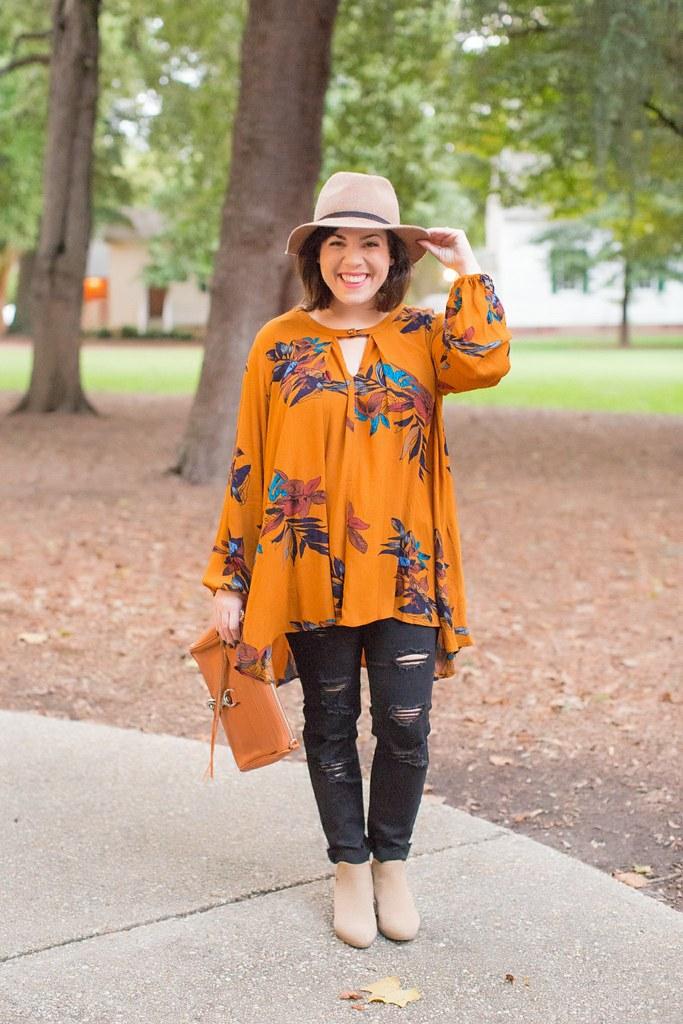 Head to Toe Chic-mustard tunic-@akeeleywhite