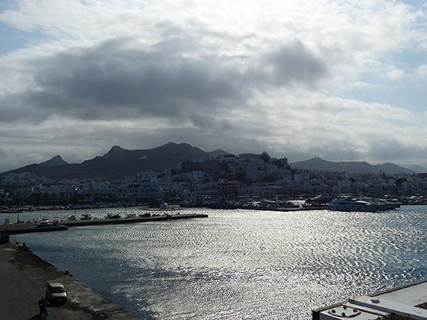nuages sur Naxos