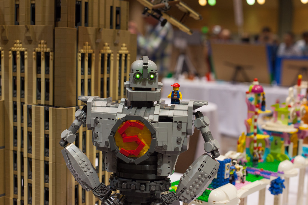 Bricks by the Bay - The Iron Giant