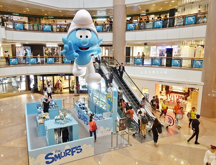21 香港 海港城 Harbourcity 藍精靈 十分勁