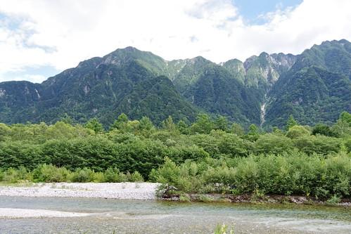 Azusa-gawa river 梓川 Kamikochi 2016 summer 49