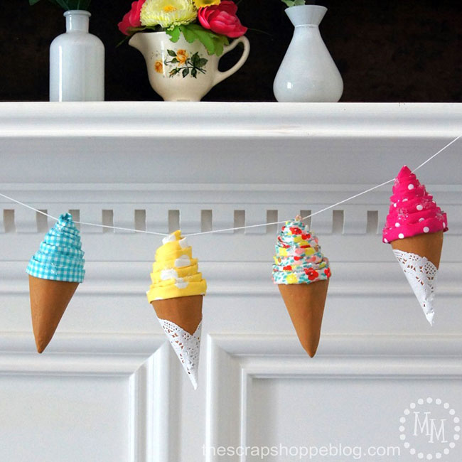 foam-ice-cream-garland