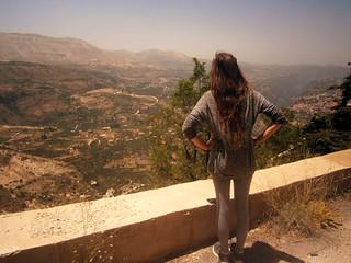 Briana Overlooking Bcharre