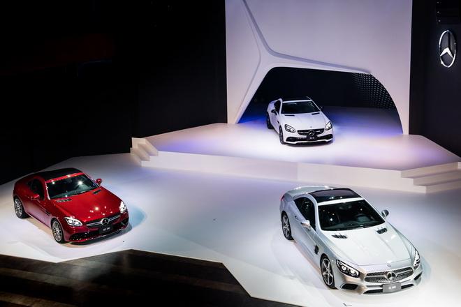 台灣賓士擇於今日(7月20日)正式發表The new SL及The new SLC,兩款夢幻跑車聯袂現身
