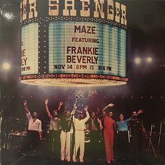 MAZE FEATURING FRANKIE BEVERLY:LIVE IN NEW ORLEANS(JACKET A)