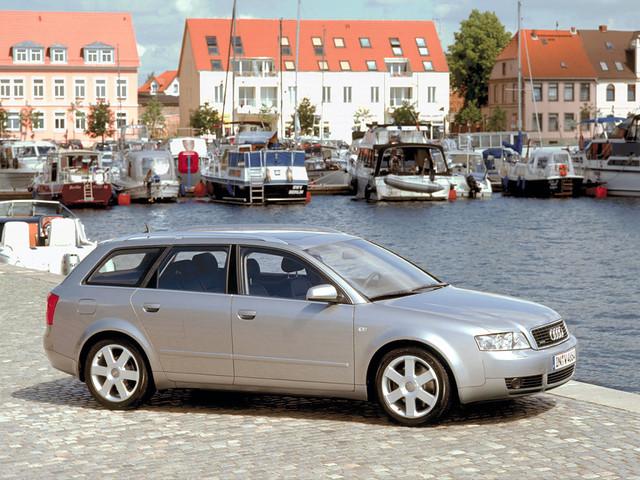 Универсал Audi A4 B6 Avant. 2001 - 2004 годы