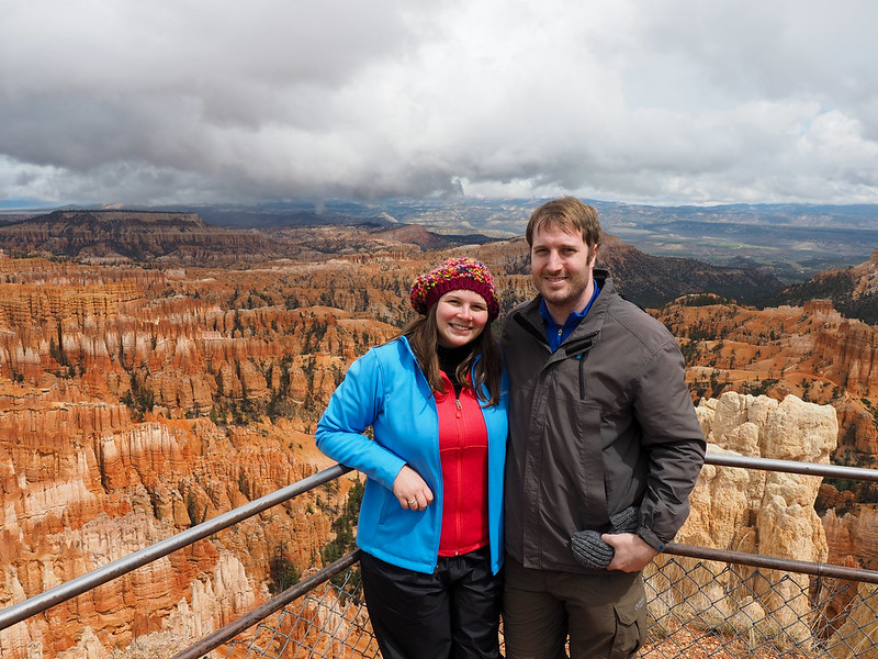 Akatuki and Elliot at Bryce Canyon