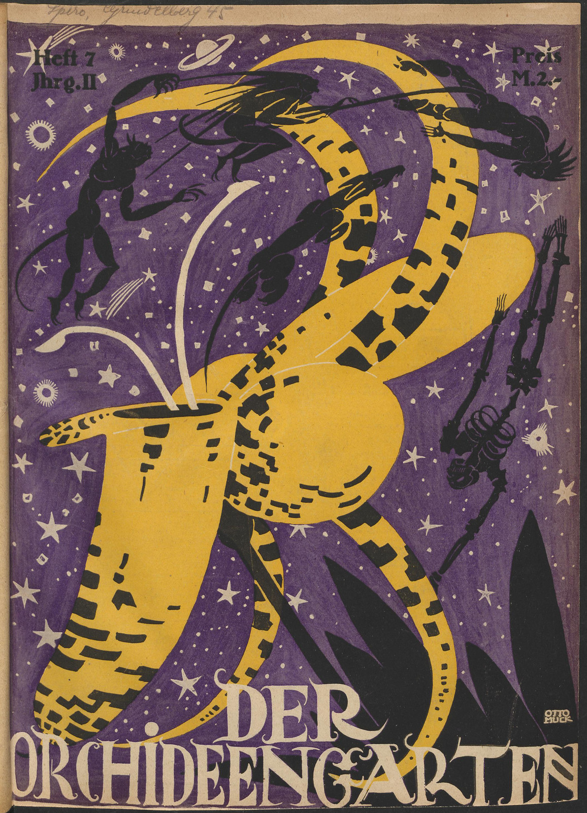 Der Orchideengarten - 1920 (Cover 7)
