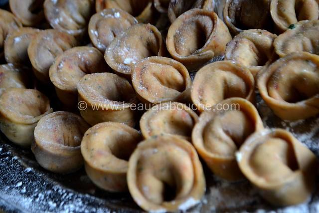 Tortellini Aux Epinards & Ricotta Sauce au Gorgonzola © Ana Luthi Tous droits réservés 023