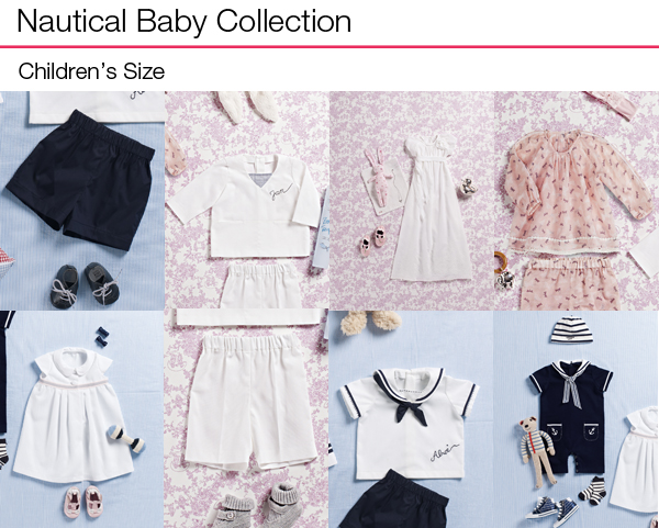 Nautical Baby Collection