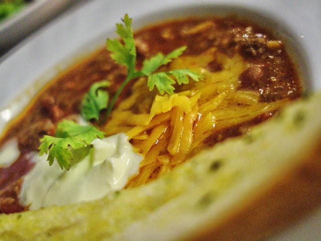 Chili Soup Up Close