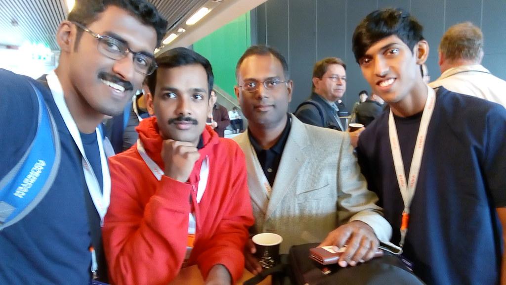 Team Autobots with Prof. Raj Madhavan