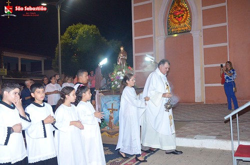 Última novena e missa da Festa de São Francisco