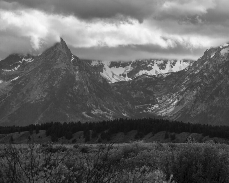 8x10 Tetons  bw Grand Teton National Park  IMG_6975