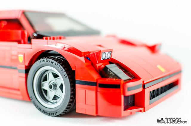 REVIEW LEGO 10248 Ferrari