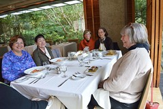 Garden Room, Prospect House: Nora Ananos, Angie Mariani, Kathy Babich, Helen Ju, Kathy Hutchins. 10/26/2016-DSC_0039