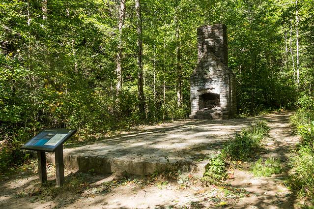 Picnic shelter ruins - 1