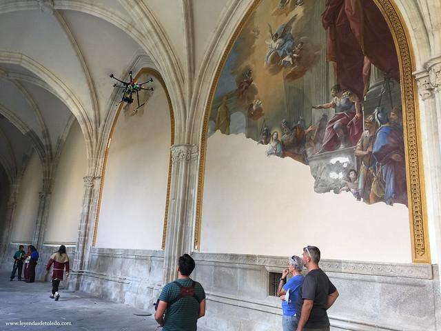 "Rodaje del documental ""La Catedral de Toledo, un Misterio de Luz"""