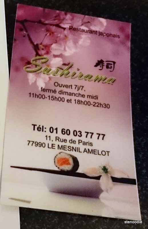 Sushirama business card