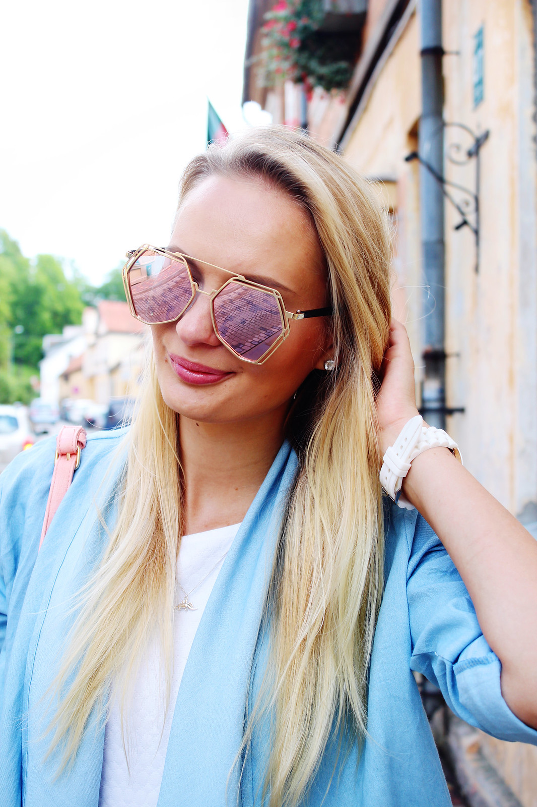 Halo oversized sunglasses