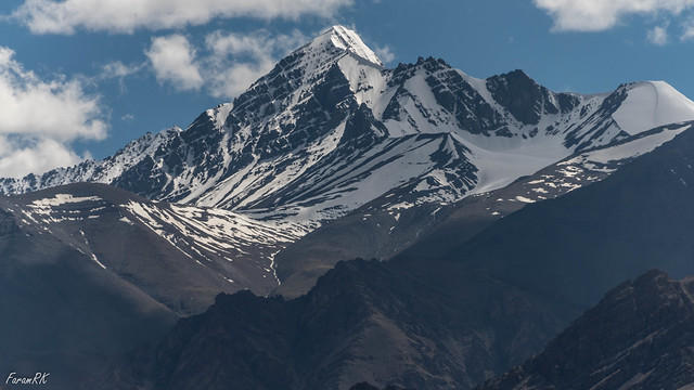 Stok Kangri (20,182'), seen from the north