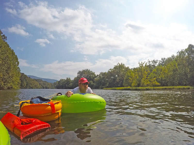 tubing the shenandoah