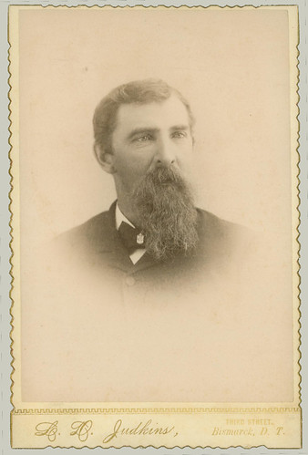 Cabinet Card Man with Beard