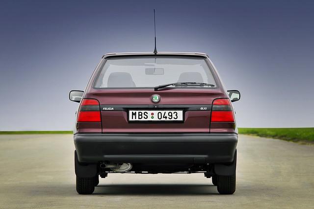 Хэтчбек Skoda Felicia. 1994 - 1998 годы производства
