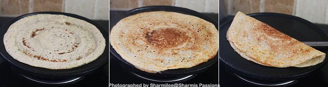 How to make Sorghum Dosa Recipe - Step3