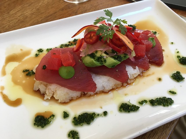 Yellowfin tuna crudo - Barndiva