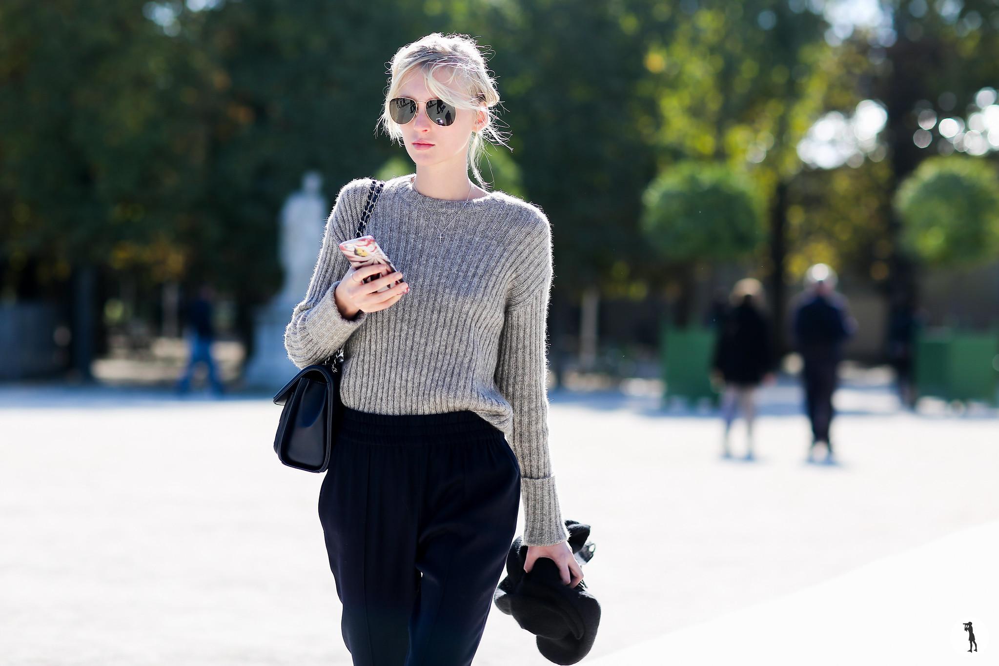 Model at Paris Fashion Week