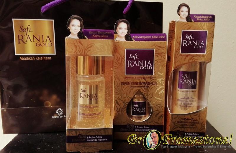 SAFI Rania Gold dengan formulasi DUO EMAS 24K
