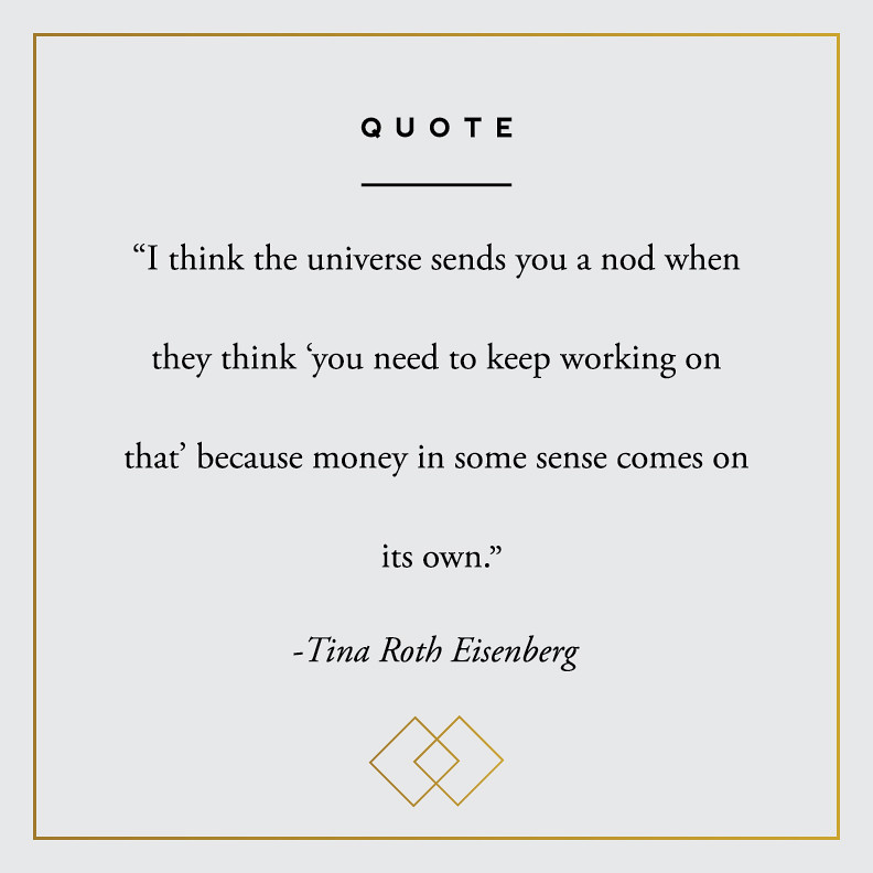 Quote - Tina Roth Eisenberg
