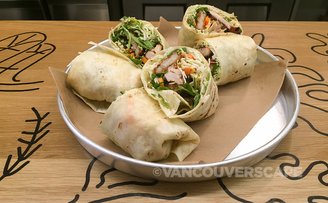 Tacofino Lemongrass Chicken Burrito